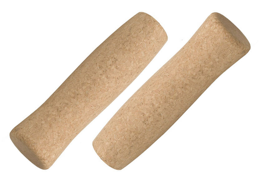pair of tan grips