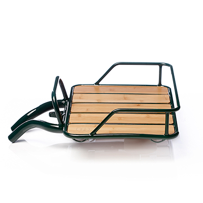 Faraday Front Rack Green
