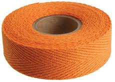 single roll of orange tape