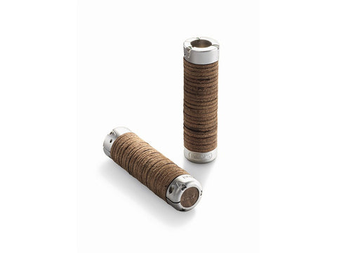 Brooks Leather Ring Grips - Antique Brown