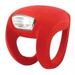 Knog Frog Strobe Light Front - Red