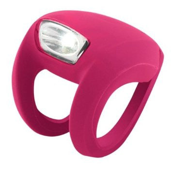 Knog Frog Strobe Light Front - Rose