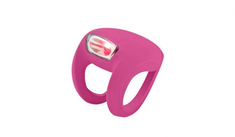 Knog Frog Strobe Light Rear - Rose