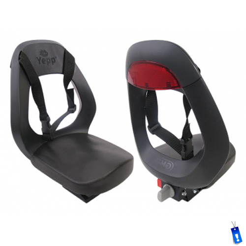 front and back image of seat