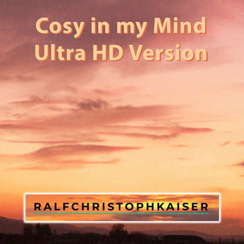 You will awaken by hearing this new audio drama with electro jazz music in it. Cosy in my Mind in Ultra HD Sound by Ralf Christoph Kaiser online now!