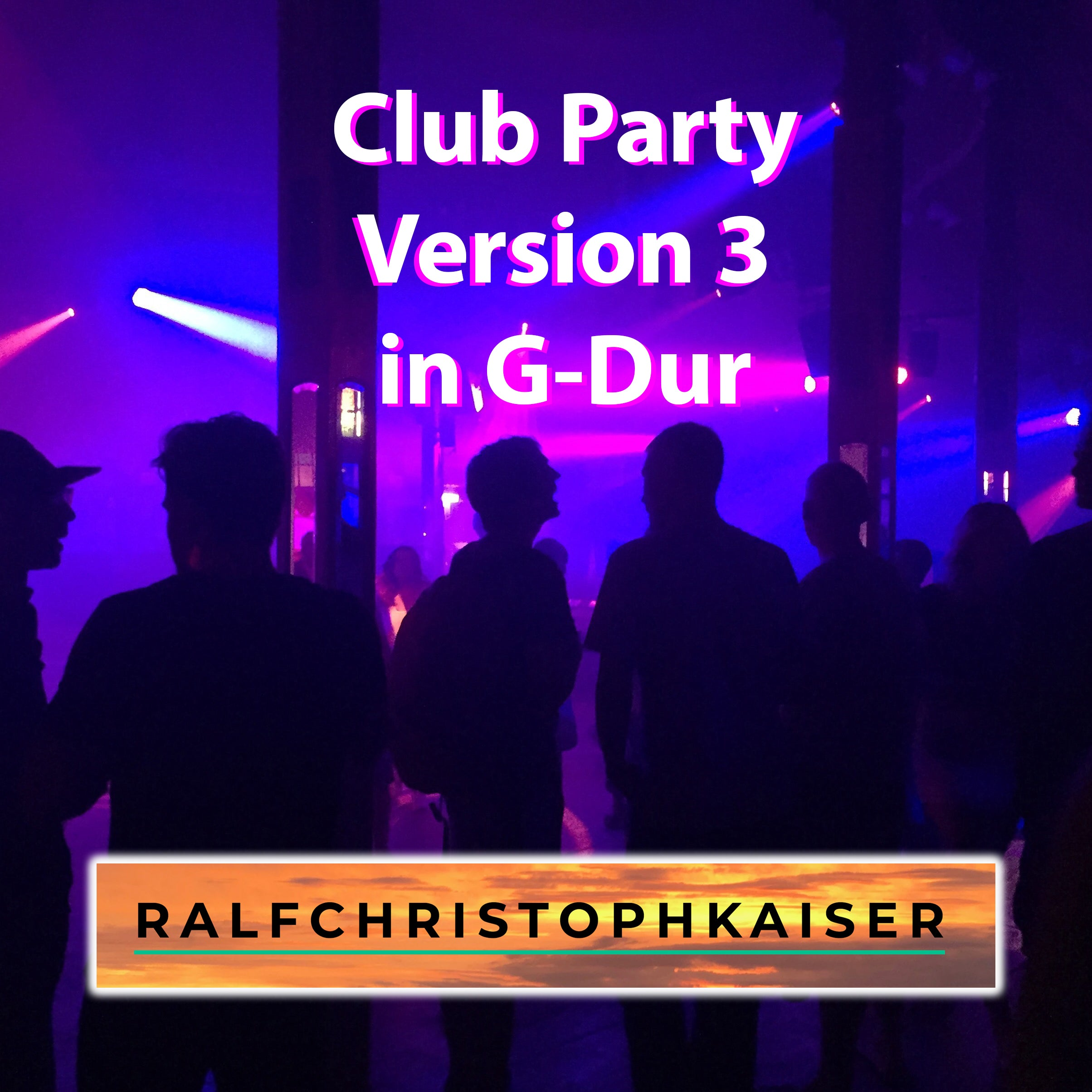 Club Party in G-Dur by Ralf Christoph Kaiser Version 3 Full Score Full Orchestra Leadsheet and Parts