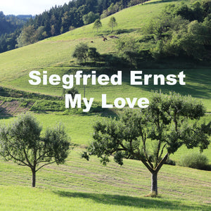 "Siegfried Ernst on piano live in concert EP ""My Love"" fan collection wav and mp3 version of all songs"