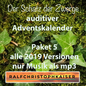 The treasure of the dwarves auditory advent calendar package 5 all 2019 versions only music as mp3