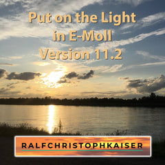 Put on the Light in classical version 11.2 with full orchestra in E-minor by Ralf Christoph Kaiser HD Sound wav file download