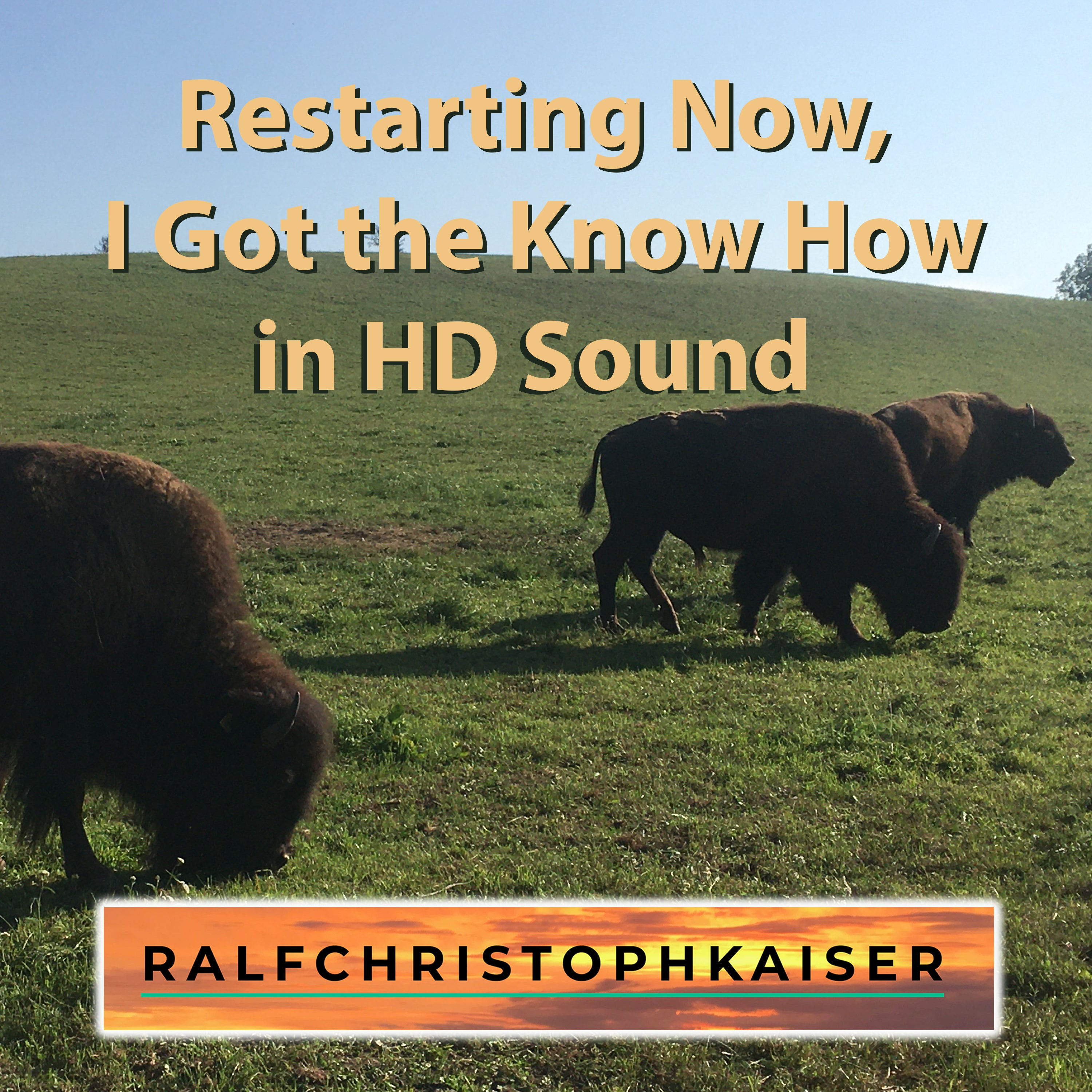 "The new alternative rock song by Ralf Christoph Kaiser and band:""restarting now, i got the know how""in HD sound power version without vocals"