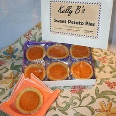 Sweet Potato Pies, Miniature Pies, mini pies