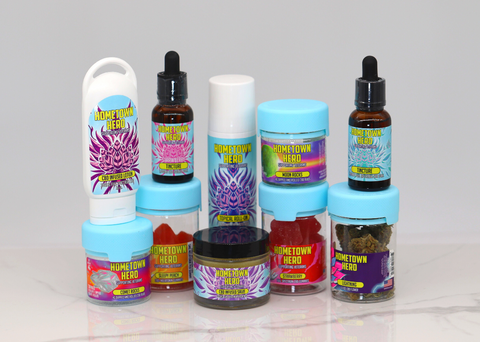 Hometown Hero CBD Giveaway Products