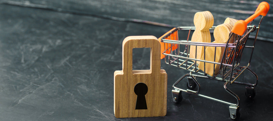 Shopping cart with restrictions