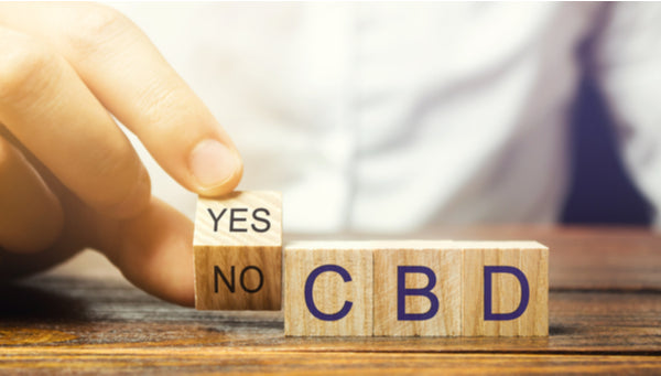 no cbd products allowed