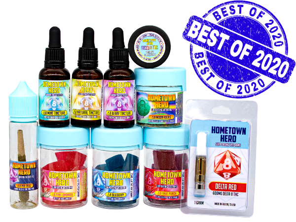 Best Delta 8 THC Products of 2020