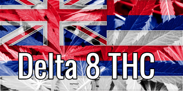 Delta 8 THC Hawaii Flag