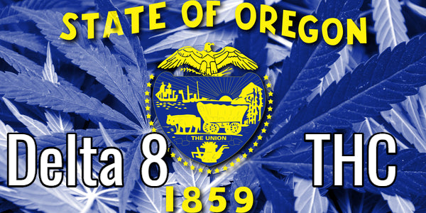 Delta 8 THC Oregon Flag