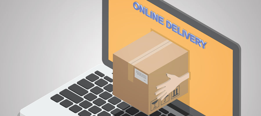Packing being delivered online
