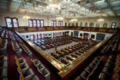Empty Texas House of Representatives