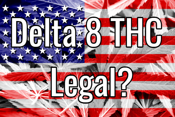 Is Delta 8 THC Legal American Flag