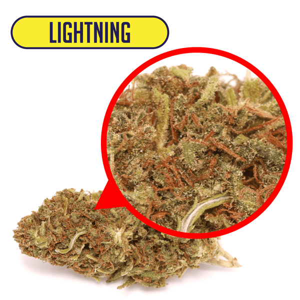 Lightning CBD flower