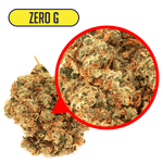 Zero G CBD Flower Close Up
