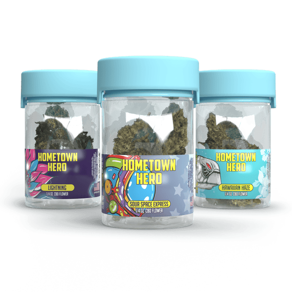 CBD Flower Bundle 1/4 oz