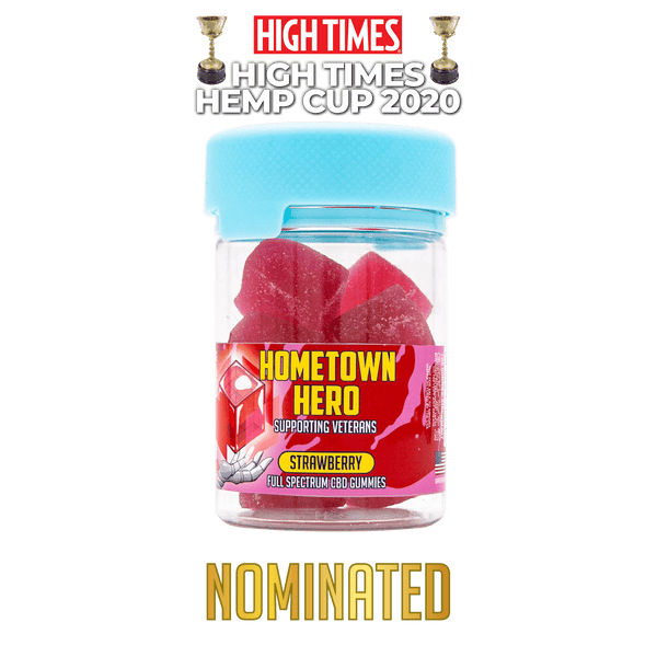 Hemp Cup Strawberry CBD Gummies