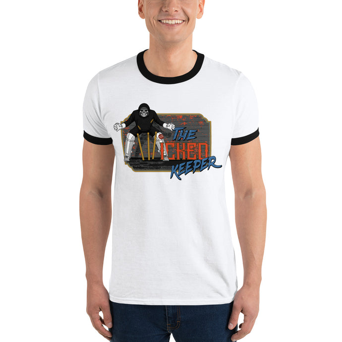 Cricket dark art design theme Ringer T-Shirt