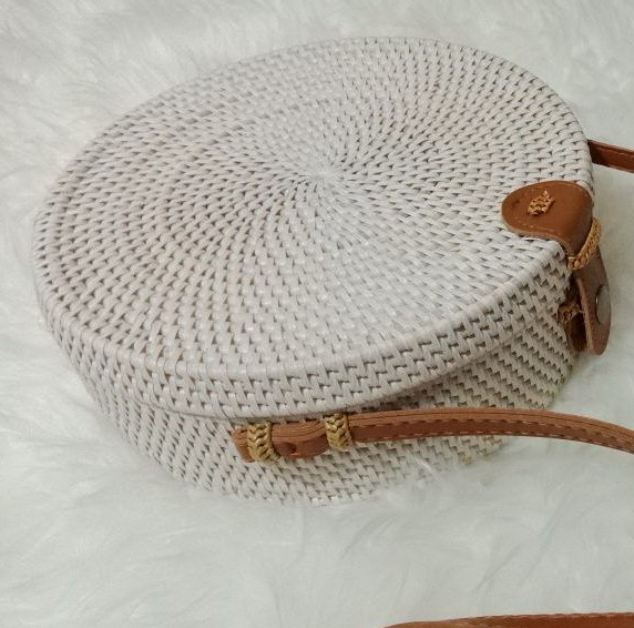 Colorful Handmade Woven Bohemia Rattan Bag