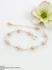 Mini Goddess (children) Tiny Freshwater Pearl Bracelet