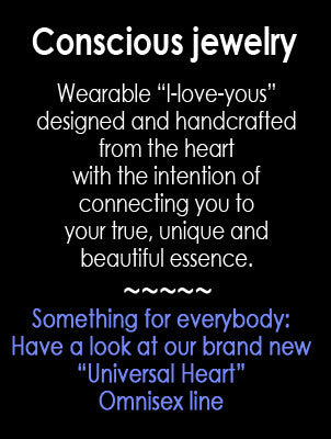 Conscious jewelry. Meaningful gift ideas. New Omnisex line.