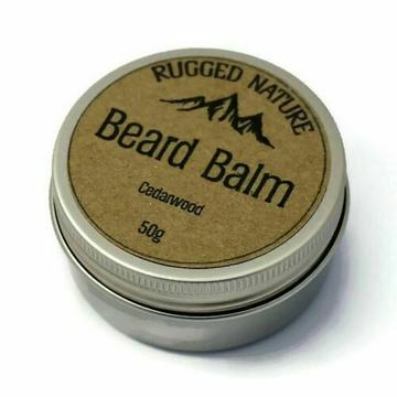 Natural Beard Balm - Cedarwood - Tecorra