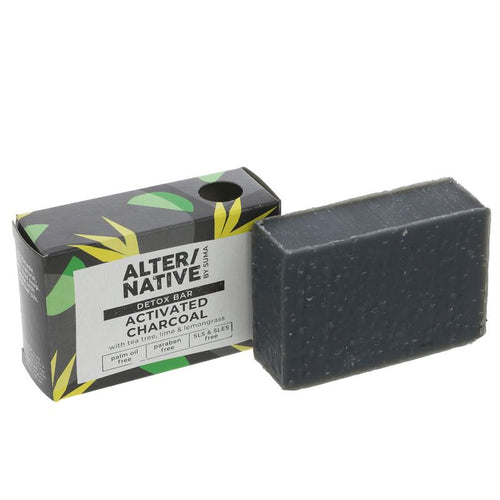 Alter/Native Activated Charcoal Detox Soap Bar - Tecorra