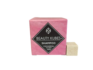 Beauty Kubes Shampoo for Normal & Dry Hair - Tecorra