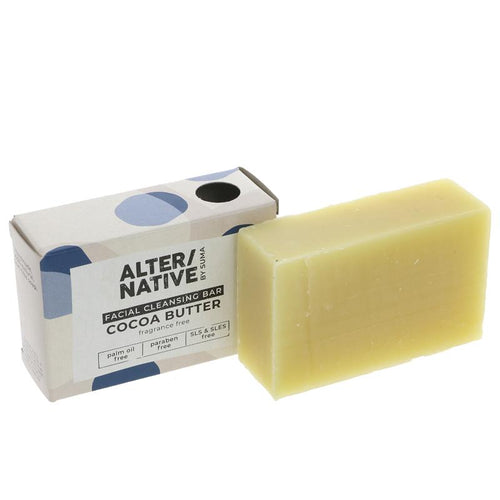 Alter/Native Cocoa Butter Facial Cleansing Soap Bar - Tecorra