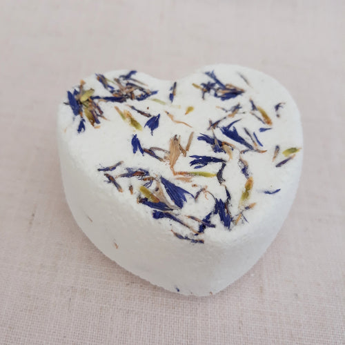 Glacier Blue Bath Bomb by Little Blue Hen Soap - Tecorra