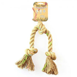 Triple Knot Hemp Rope Toy - Tecorra