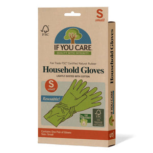 Household Rubber Gloves - Small - Tecorra