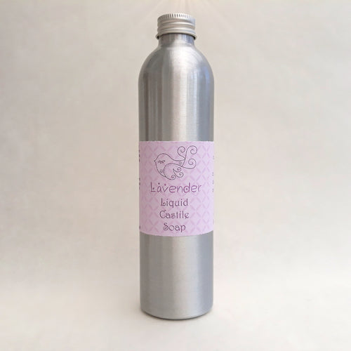 Lavender Liquid Soap by Little Blue Hen Soap - Tecorra