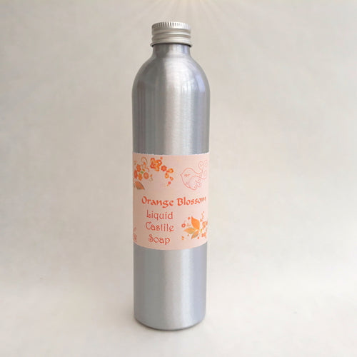 Orange Blossom Liquid Soap by Little Blue Hen Soap - Tecorra