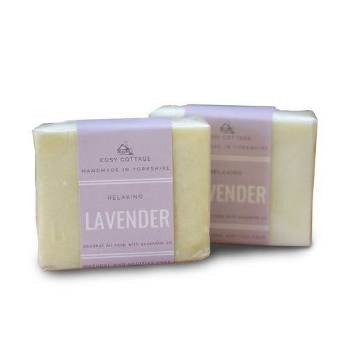 Cosy Cottage Handmade Natural Soap - Lavender - Tecorra