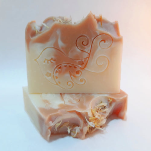 Orange Blossom Soap Bar by Little Blue Hen Soap - Tecorra