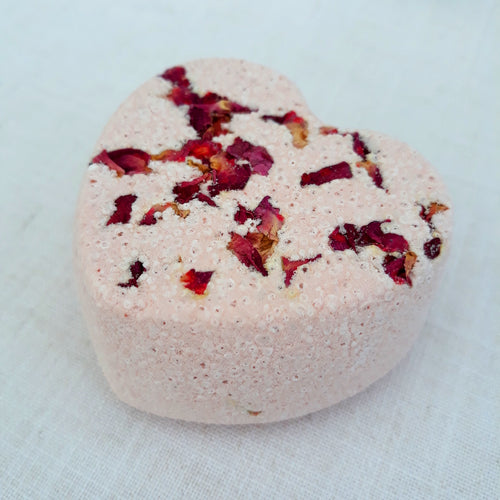 Rose Garden Bath Bomb by Little Blue Hen Soap - Tecorra