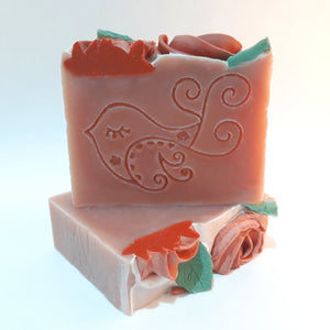 Rose Garden Soap Bar by Little Blue Hen Soap