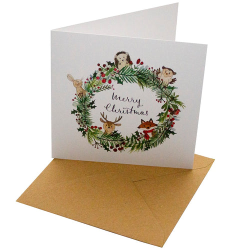 Recycled Christmas Cards (10 designs) - Tecorra