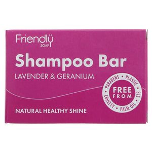Friendly Soap Shampoo – Lavender & Geranium - Tecorra