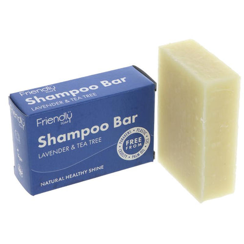 Friendly Soap Shampoo - Lavender & Tea Tree - Tecorra