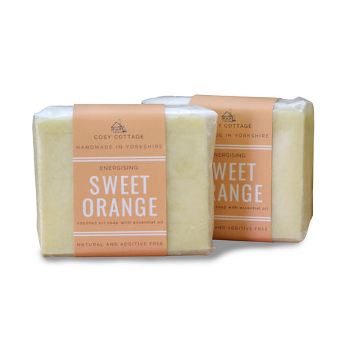 Cosy Cottage Handmade Natural Soap - Sweet Orange - Tecorra