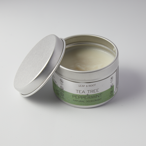 Tea Tree & Peppermint Natural Deodorant - Tecorra
